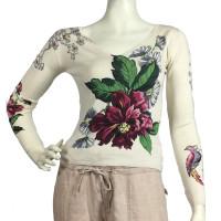 Parosh Pullover mit floralem Muster