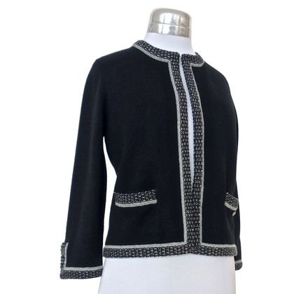 Chanel Zwarte Cardigan