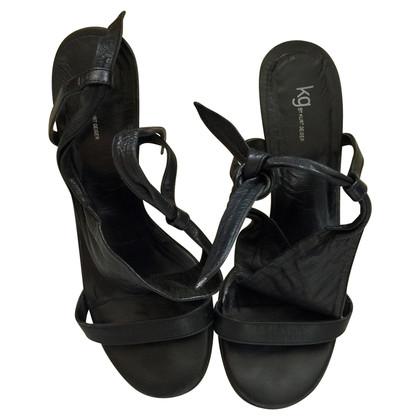 Kurt Geiger Black heeled sandals