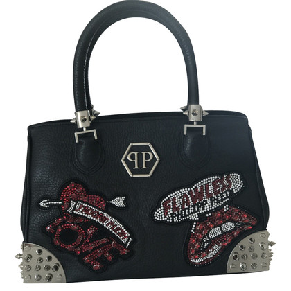 Philipp Plein Black Purse