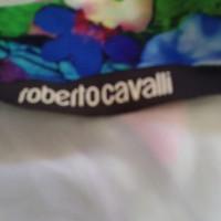 Roberto Cavalli Robe en multicolore