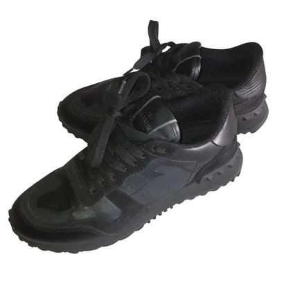 """Valentino """"Rockrunner"""" Sneakers in Schwarz"""
