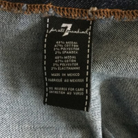 7 For All Mankind Jeanskleid