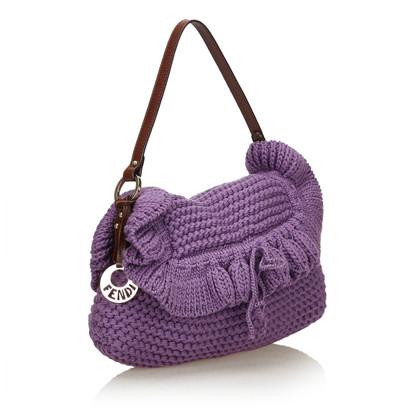"""Fendi """"Knit Chef Shoulder Bag"""""""