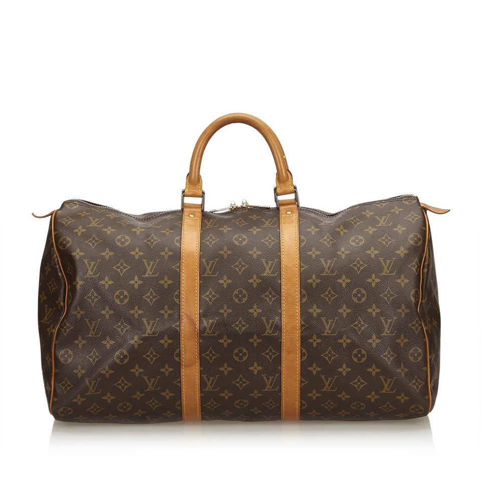 "Louis Vuitton ""Keepall 50 Monogram Canvas"""