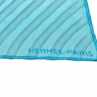 Hermès Plissierter Seidenschal