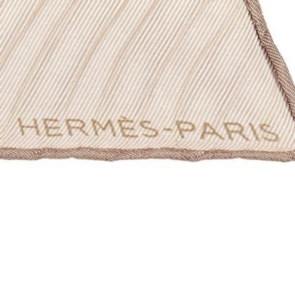 Hermès Plissiertes Seidentuch