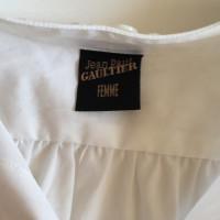 Jean Paul Gaultier Robe blanche avec ceinture