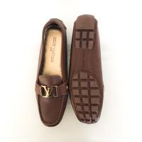 Louis Vuitton Mocassin en marron