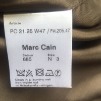 Marc Cain Robe en soie marron