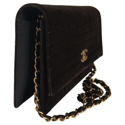Chanel Vintage Flap Bag aus Samt