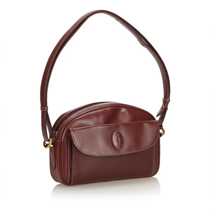 Cartier Leren Must de Cartier Shoulder tas