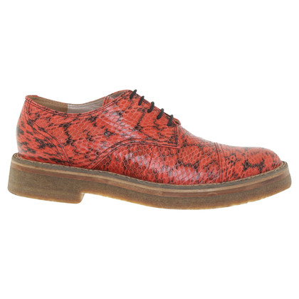 Dries van Noten Lace-up shoes made of snakeskin