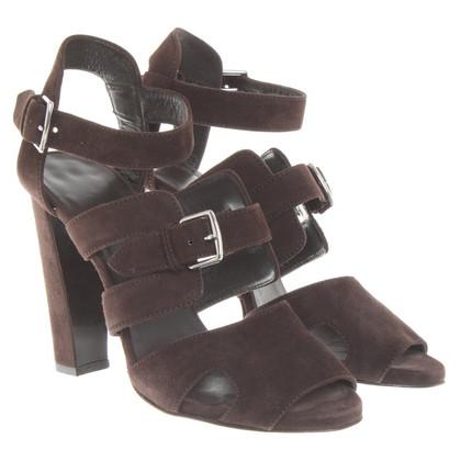 Hermès Sandaletten in Braun