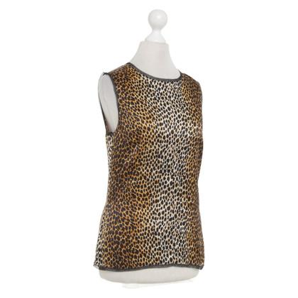 D&G Top met leopard patroon