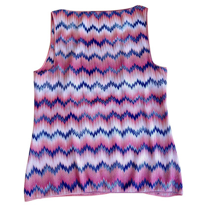 Missoni mouwloze top