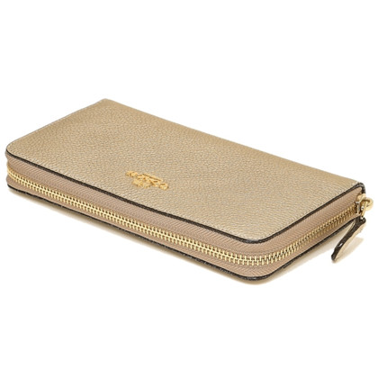 Coach Gold colored wallet