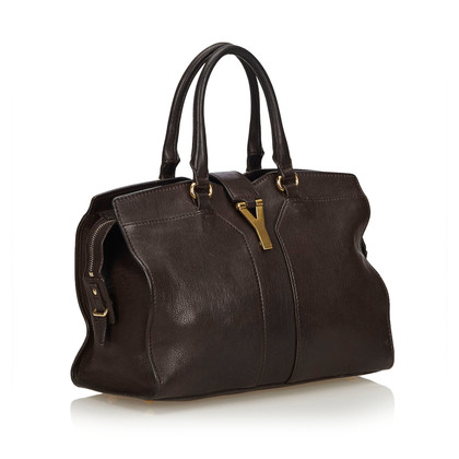"""Yves Saint Laurent """"Cabas Chyc"""" in marrone"""