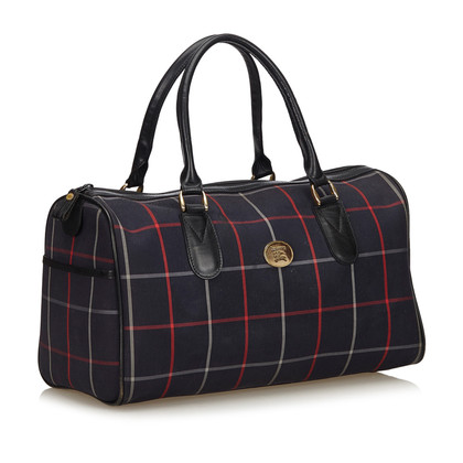 Burberry Travel bag with checked pattern