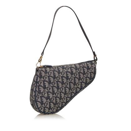 Christian Dior Schuine Mini Saddle Bag