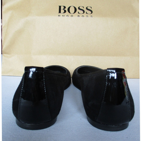 Boss Schwarz Hugo Schwarz Ballerinas Hugo Boss in wFqxnE4Cgq