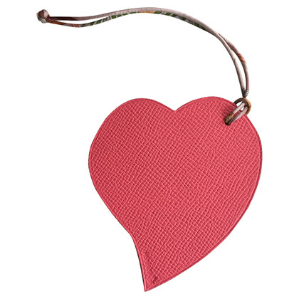 Hermès Bag charms in heart shape