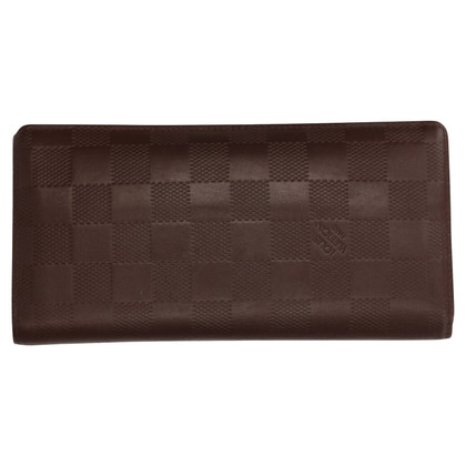 "Louis Vuitton ""Brazza Damier Infini Leather"""