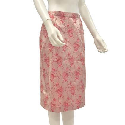 Prada Silk skirt with a floral pattern