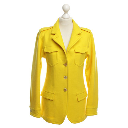 Max Mara Wol jas geel