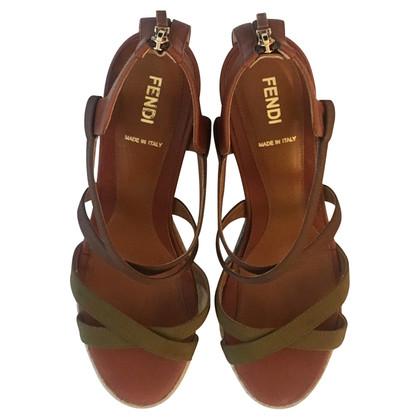 Fendi Sandalen met sleehak
