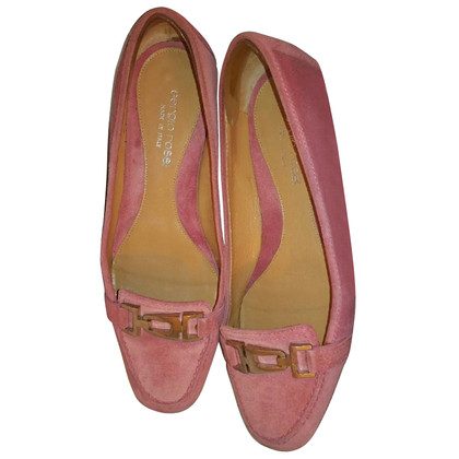 Sergio Rossi Suede loafers