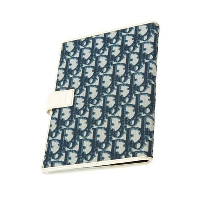 Christian Dior Cartella documenti con motivo logo