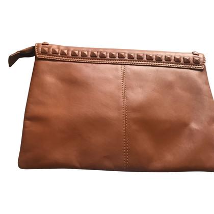 Steffen Schraut clutch in brown