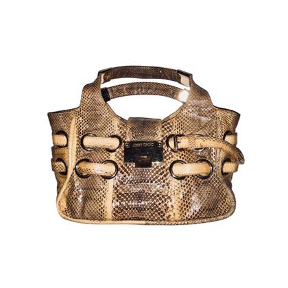 Jimmy Choo Handbag in reptile look