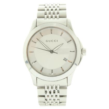 Gucci Armbanduhr aus Edelstahl