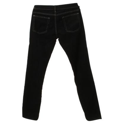 Isabel Marant Corduroy broek in zwart