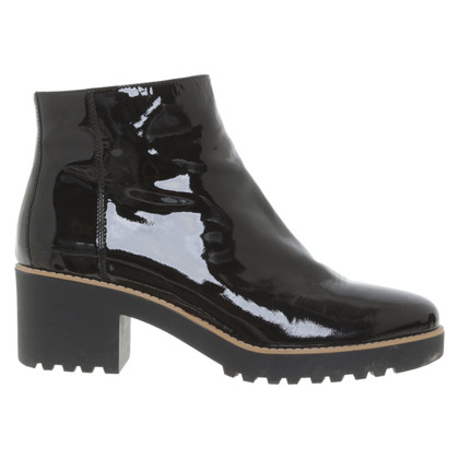 Hogan Patent leather ankle boots