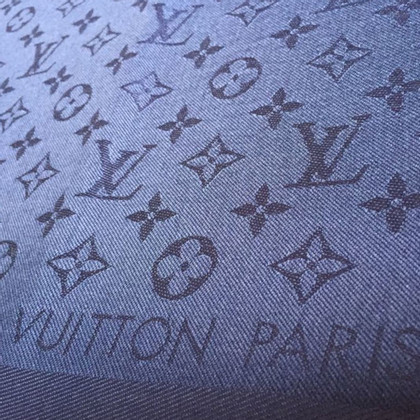 Louis Vuitton Monogram cloth in blue