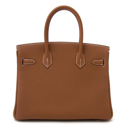 "Hermès ""Birkin Bag 30 Togo Gold GHW"""
