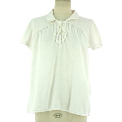 Maje top in white