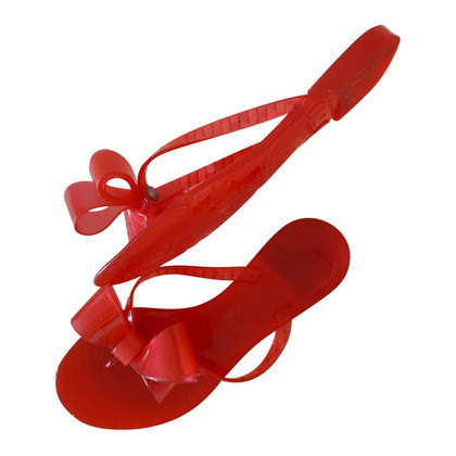 Valentino Flip-flops in red
