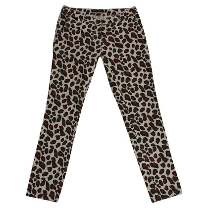 Maison Scotch Jeans con pattern leopardo