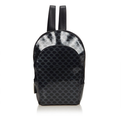 Céline Patent leather backpack