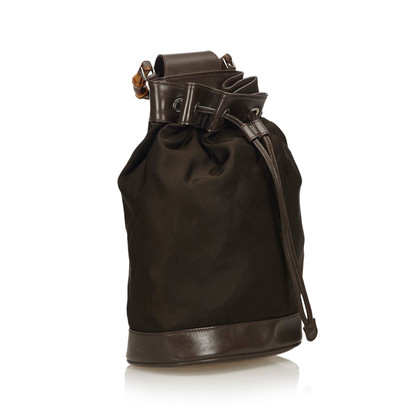 """Gucci """"Bamboo Backpack"""" in black"""