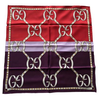 Gucci Zijden sjaal met patroon
