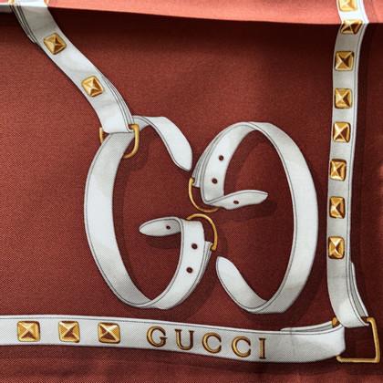Gucci zijden jurk met patroon