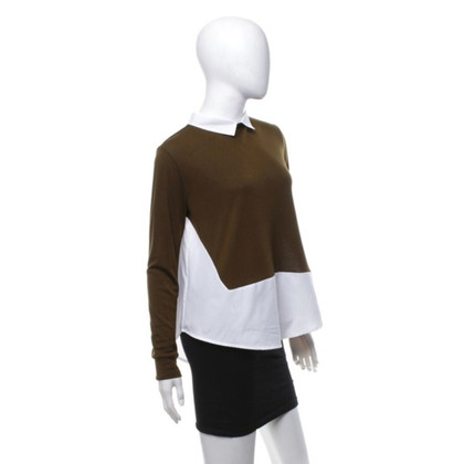 French Connection top in Bicolor