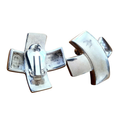Cada Orecchini a clip color argento
