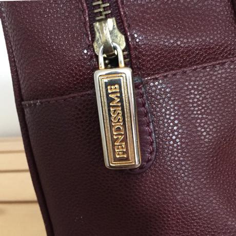 Fendi Schultertasche Bordeaux Günstiger Online-Shop Sehr Günstig Online QXsZ7eZ