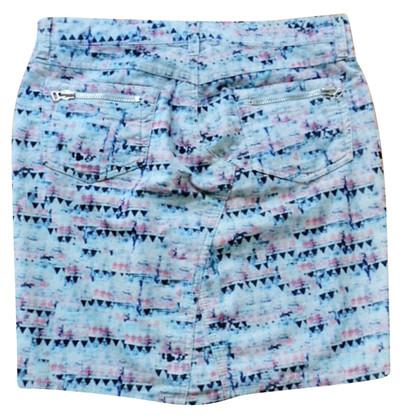 Isabel Marant Etoile Light blue mini skirt